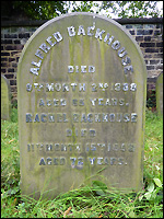 Grave of Alfred Backhouse, Darlington