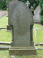Grave of Aaron Bowker