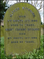 Grave of Alfred Kitching, Darlington
