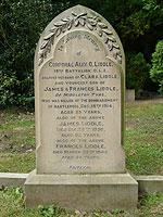 Grave of Alix Liddle