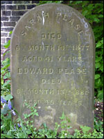 Grave of Edward Pease, Darlington