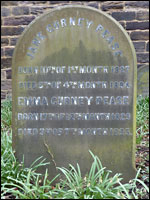 Grave of Emma Gurney and Jane Pease