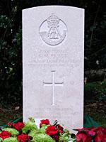 Headstone of Edward Pratt