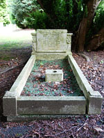Grave of Alf Common