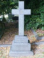 Headstone cross