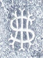 HIS grave symbol