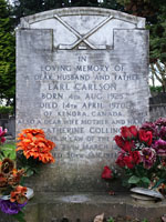 Grave of Earl Carlson