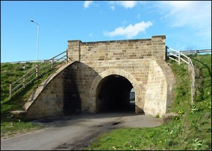 George Stephenson's Tunnel in Arnold Road Darlington