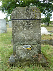 Grave of Emily Jackson in Ely