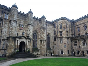 The Courtyard of Durham Castle