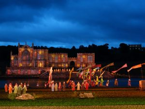 Kynren on a summer evening