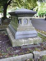 Grave of WT Barningham