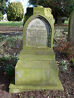 Grave of William Waldon Davison